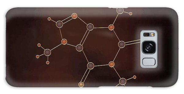 Caffeine Molecule Galaxy Case
