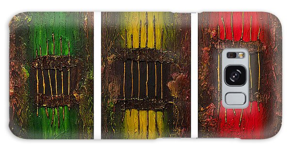 Caged 2 Galaxy Case by Patricia Lintner