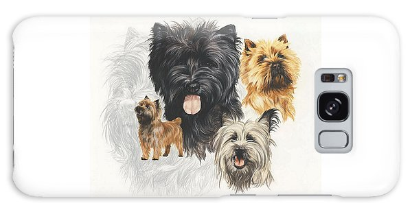 Cairn Terrier Revamp Galaxy Case