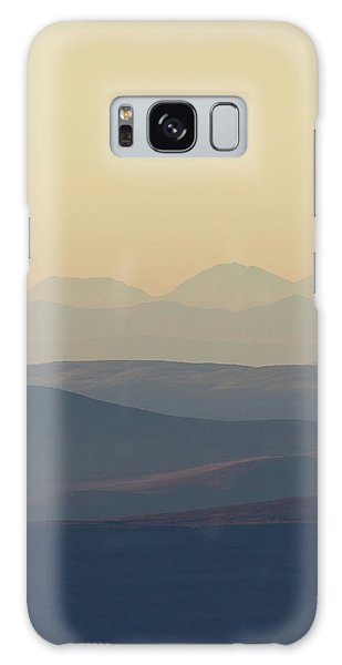 Cairngorms Sunset Galaxy Case