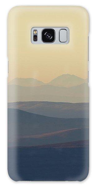 Cairngorms Sunset Galaxy Case