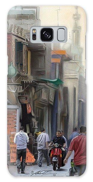 Cairo Street Market Galaxy Case