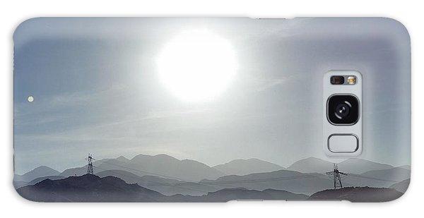 Cajon Pass Sunset Galaxy Case