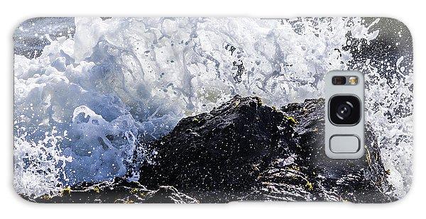 California Coast Wave Crash 4 Galaxy Case