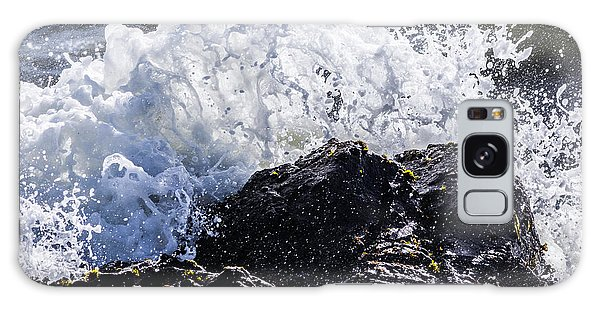 California Coast Wave Crash 4 Galaxy Case