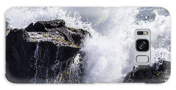 California Coast Wave Crash 6 Galaxy Case