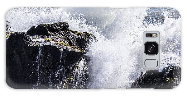California Coast Wave Crash 6 Galaxy Case