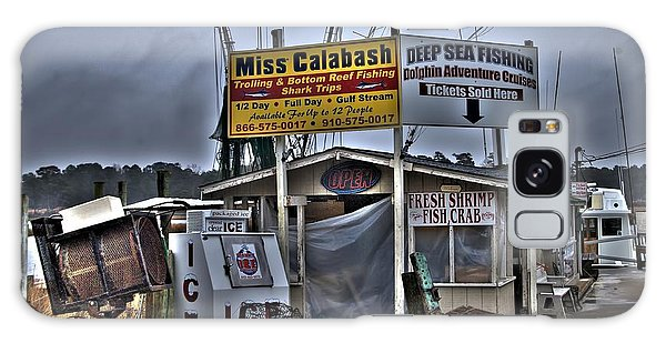 Conyers Galaxy Case - Calabash Bait Shop by Corky Willis Atlanta Photography