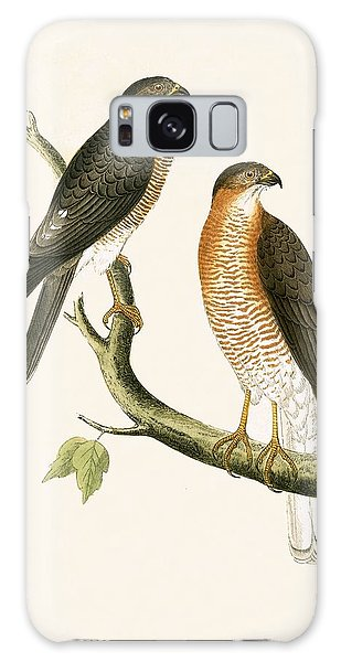 Calcutta Sparrow Hawk Galaxy Case
