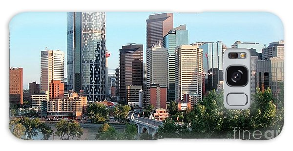 Calgary 2 Galaxy Case by Victor K