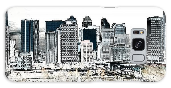 Calgary Skyline 1 Galaxy Case by Stuart Turnbull