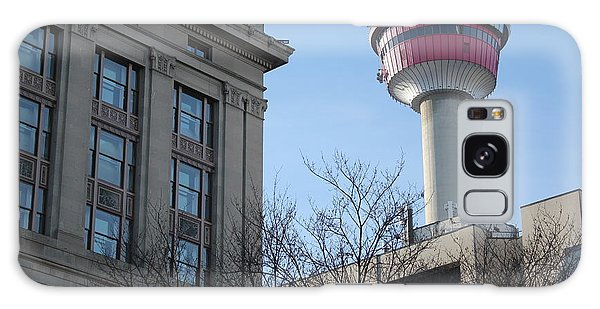 Calgary Tower Galaxy Case