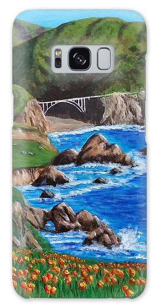 California Coastline Galaxy Case