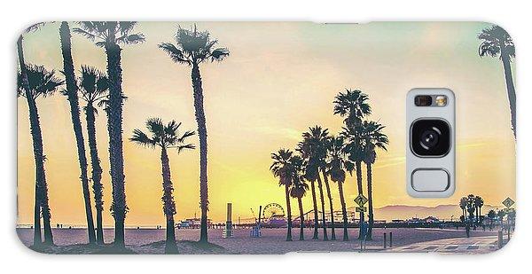 Beautiful Sunrise Galaxy Case - Cali Sunset by Az Jackson