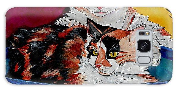 Calico Cat Galaxy Case - Calico And Et by Patti Schermerhorn