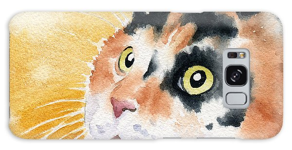 Calico Cat Galaxy Case - Calico Cat by David Rogers