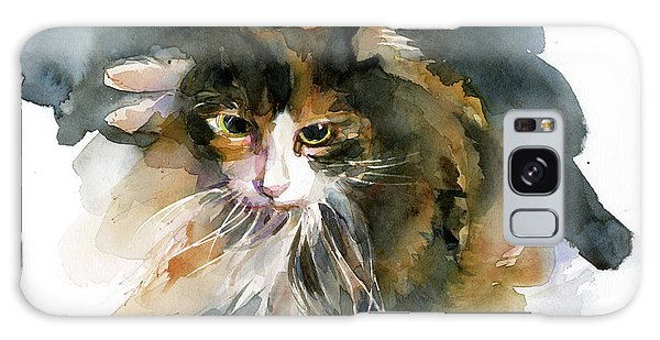 Calico Cat Galaxy Case - Calico Cat by John Keeling