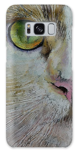 Calico Cat Galaxy Case - Calico Cat by Michael Creese
