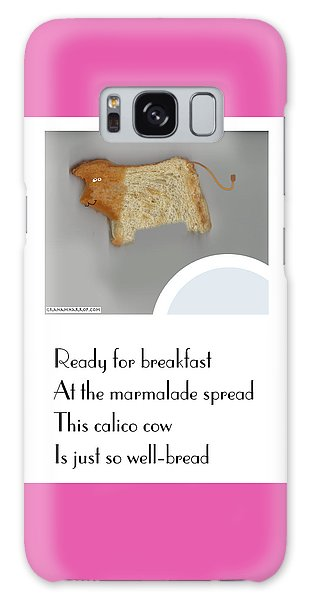 Calico Cow Galaxy Case