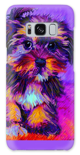 Calico Dog Galaxy Case