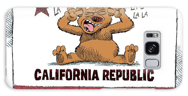 California Budget La La La Galaxy Case