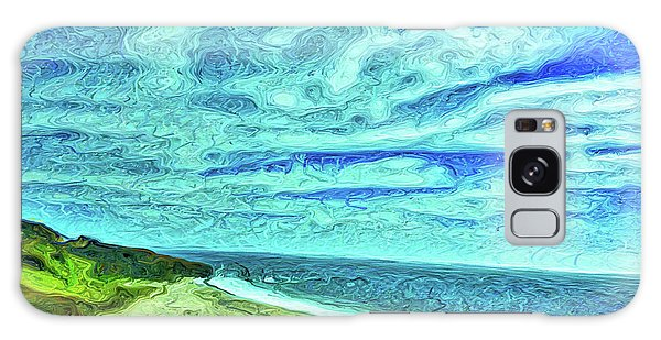 California Coast Galaxy Case by Joan Reese