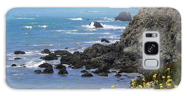 California Coast Galaxy Case by Laurel Powell