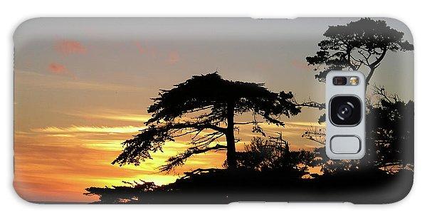 California Coastal Sunset Galaxy Case
