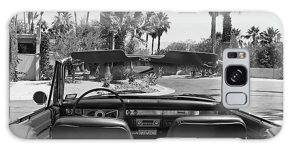California Cruisin B And W Galaxy Case