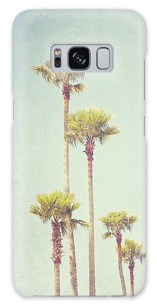 California Dreaming - Palm Tree Print Galaxy Case