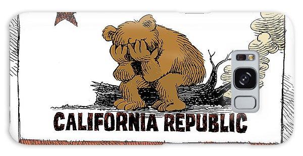 California Fire Bear Grieves Galaxy Case