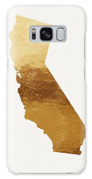 Santa Monica Galaxy S8 Case - California Gold- Art By Linda Woods by Linda Woods