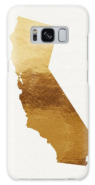 Gold Galaxy Case - California Gold- Art By Linda Woods by Linda Woods