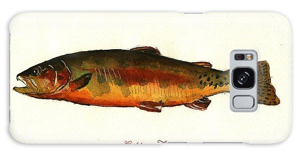 Trout Galaxy Case - California Golden Trout Fish by Juan  Bosco