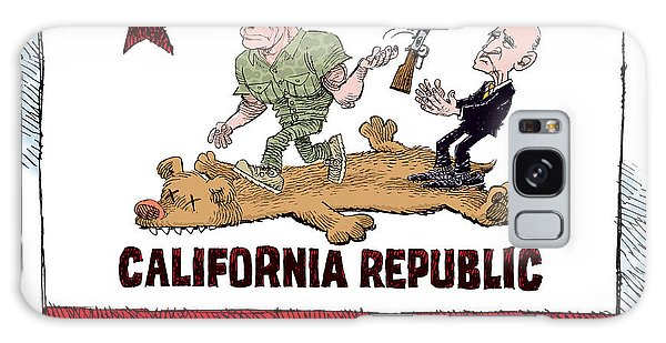 California Governor Handoff Galaxy Case