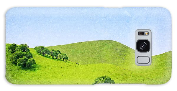 California Hillside Galaxy Case by Melanie Alexandra Price