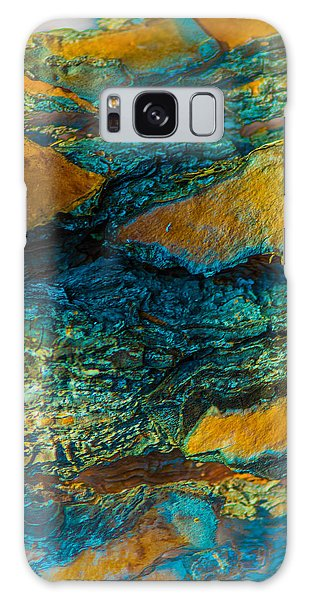California Pine Bark Abstract Galaxy Case