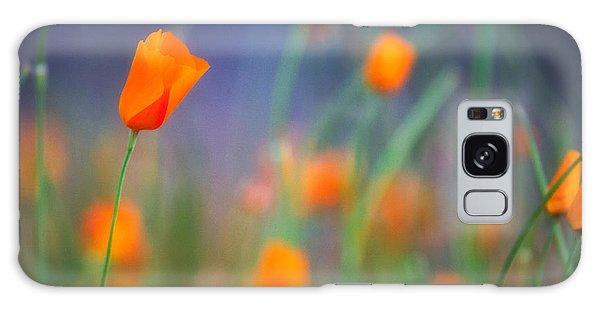 California Poppies 2 Galaxy Case