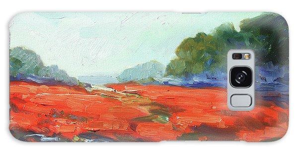 Galaxy Case - California Poppies by Irek Szelag