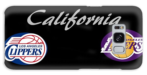 California Professional Sport Teams Collage  Galaxy Case