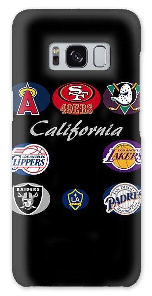California Professional Sport Teams Collage  Galaxy Case