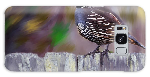 California Quail Galaxy Case