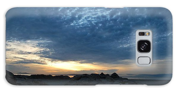 California Rocky Beach Sunset  Galaxy Case