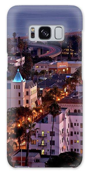 California Street At Ventura California Galaxy Case by John A Rodriguez