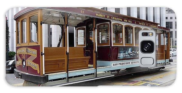 California Street Cable Car Galaxy Case