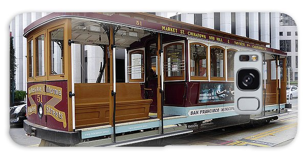 California Street Cable Car Galaxy Case