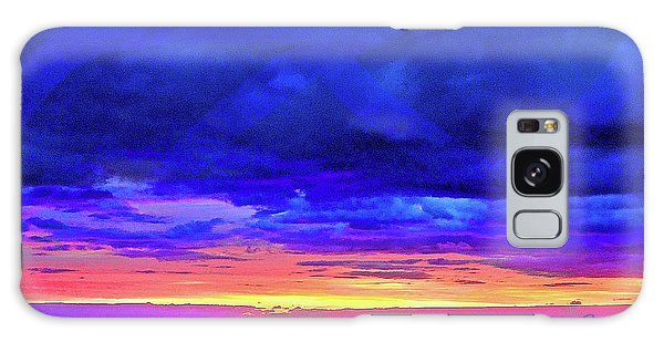 Galaxy Case featuring the painting California Sunrise by Joan Reese