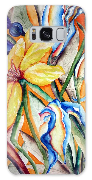 California Wildflowers Series I Galaxy Case by Lil Taylor