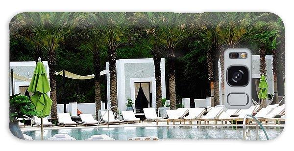 Galaxy Case - Caliza Pool In Alys Beach by Megan Cohen
