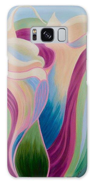 Calla Lilies Galaxy Case by Irene Hurdle